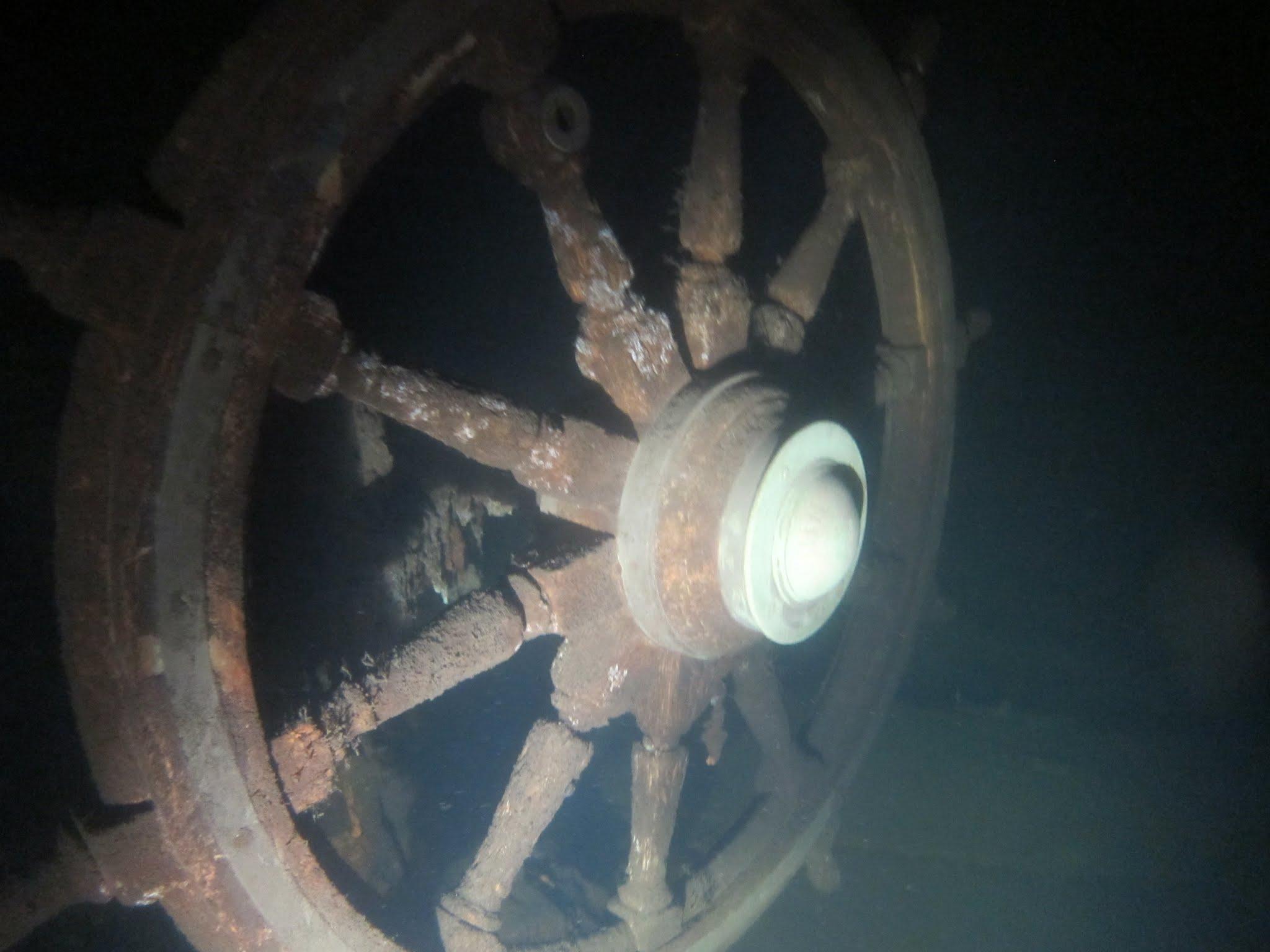 Hylky sukellus Munin